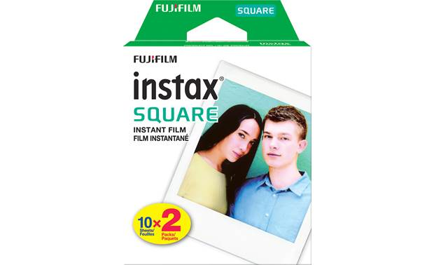 Fujifilm Instax SQUARE Film Twin Pack Front