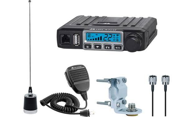 Midland MicroMobile® MXT115VP3 GMRS radio bundle