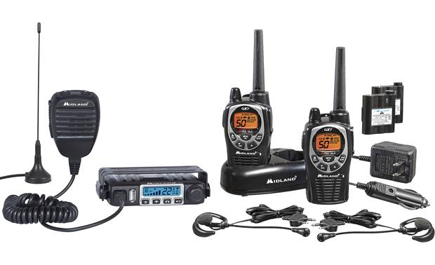 Midland MicroMobile® ORMXT115VP GMRS radio bundle