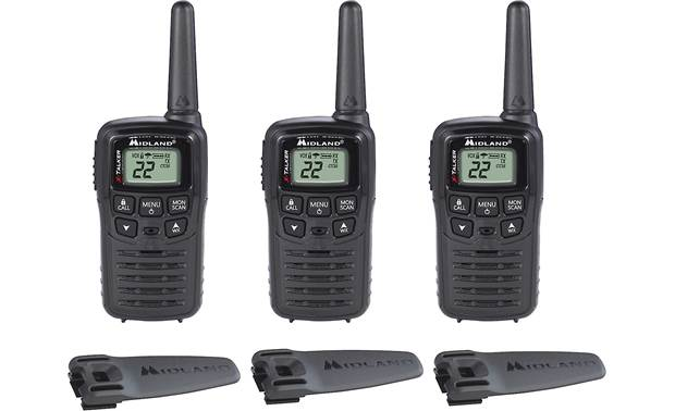Midland T10X3  X-Talker 3-pack of GMRA walkie-talkies