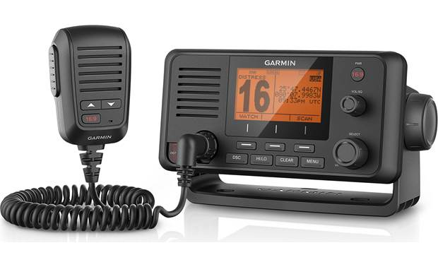 Garmin VHF 215 marine VHF radio with GPS