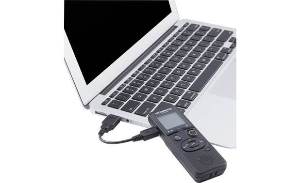 Olympus VN-541PC USB file transfer (laptop not included)