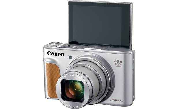 Canon PowerShot SX740 HS Rotate the 3