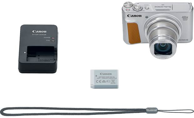 Canon PowerShot SX740 HS Included accessories