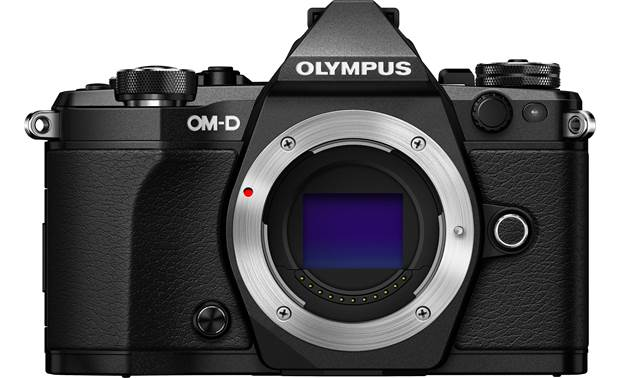 Olympus E-M5 Mark II Weatherproof Kit Shown without lens