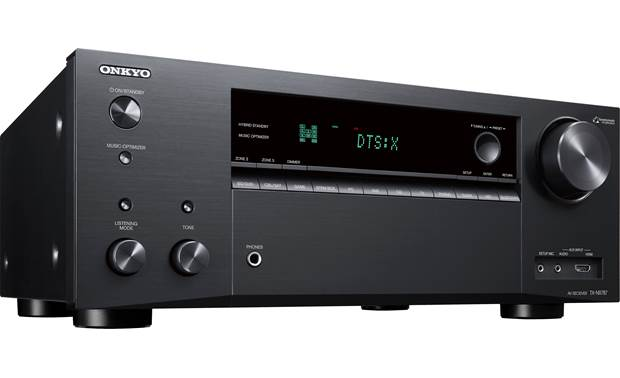 Onkyo TX-NR787 Angled front view