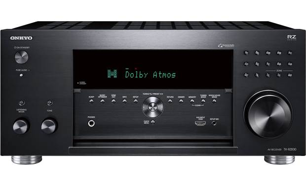 Onkyo TX-RZ830 Front-panel connections and controls