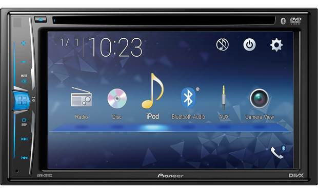 Pioneer AVH-211EX The AVH-211EX offers multimedia bang for your buck.