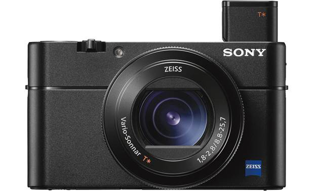 Sony Cyber-shot® DSC-RX100 V Pop-up viewfinder