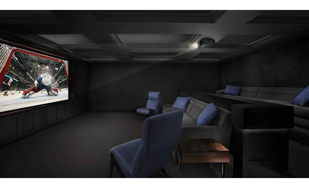 Sony VPL-VW295ES A projector makes a home theater feel much closer to a movie theater (screen sold separately)