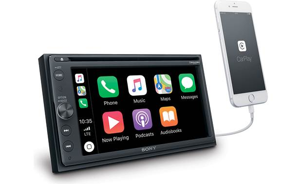 Sony XAV-AX210SXM Compatible with Apple CarPlay