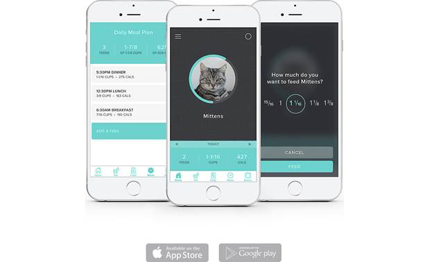 Petnet SmartFeeder 2.0 Control it all in the easy-to-use mobile app