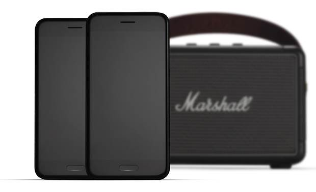 Marshall Kilburn II Black - imultaneously pair with 2 devices (smartphones not included)