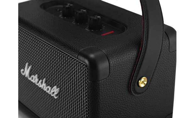 Marshall Kilburn II Black - flush-mounted corner tabs