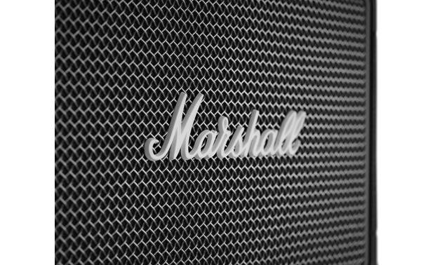 Marshall Kilburn II Black- metal mesh grille with classic Marshall logo