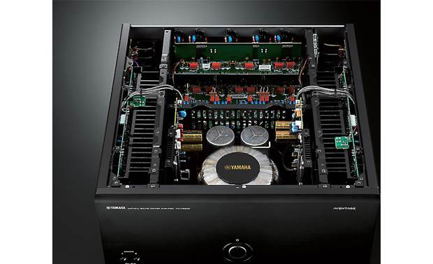 Yamaha MX-A5200 Symmetrical power amplifier layout