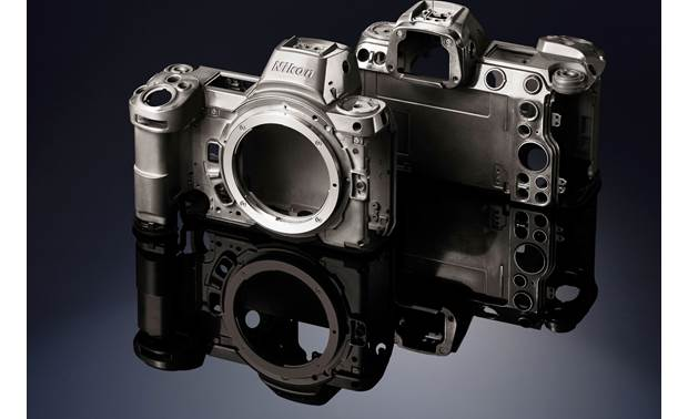 Nikon Z6 (no lens included) Magnesium alloy front, back, and top covers provide strength and durability