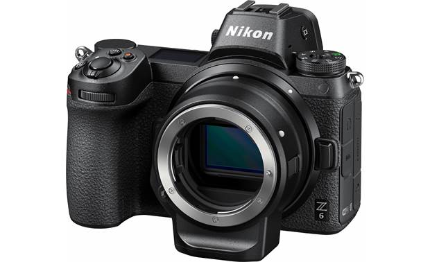 Nikon Z6 (no lens included) Angled front view