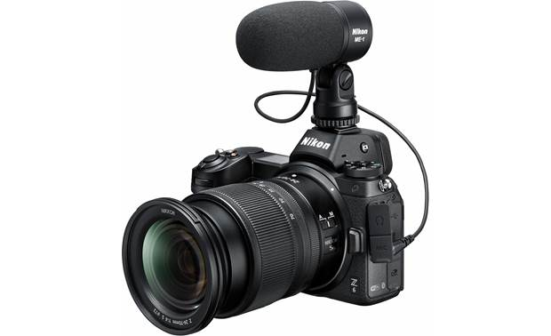 Nikon Z 6 Kit Shown with optional microphone (not included)