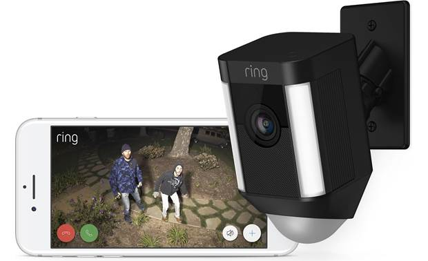 Ring Spotlight Cam Mount Keep an eye on your home from wherever you are