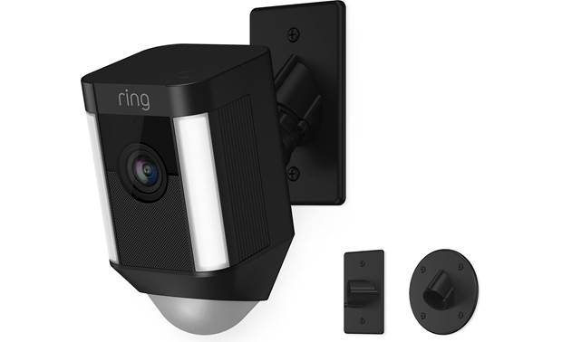 Ring Spotlight Cam Mount Includes three mounting brackets