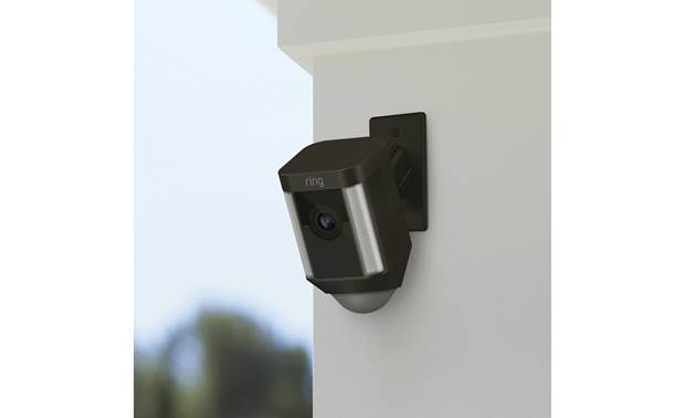 Ring Spotlight Cam Mount Optimal mounting height for detecting human motion is 9 feet