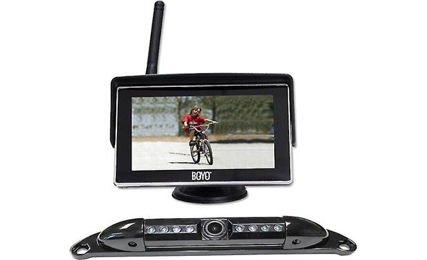 Boyo Vtc525r Wireless Rear View Camera System With 5 Dash Mounted