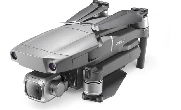 DJI Mavic 2 Pro Quadcopter Folds up for easy transportation