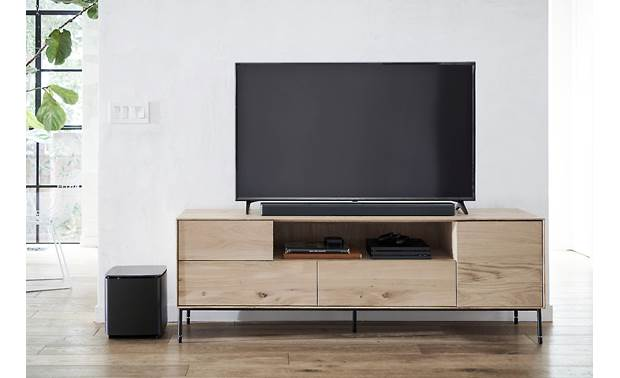 Bose® Soundbar 700 Optional Bose Bass Module adds rumble on the low end