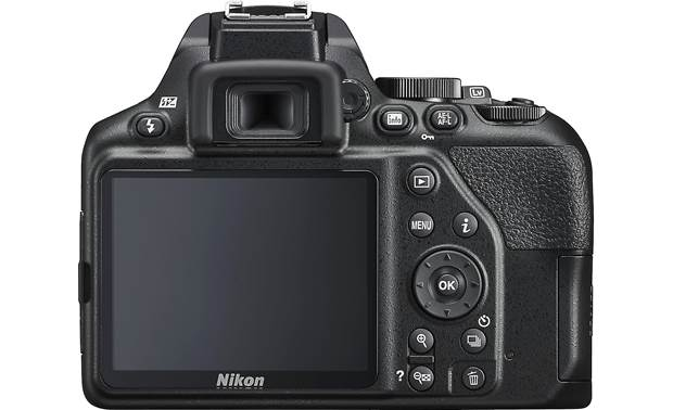 Nikon D3500 Two Lens Kit Back