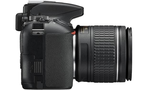 Nikon D3500 Two Lens Kit Left side