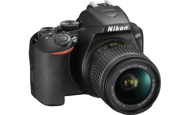 Nikon D3500 Kit Angled front view