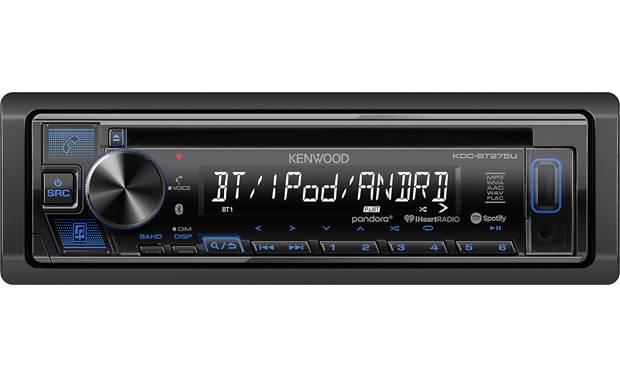 kenwood kdc-bt275u stream and control your favorite internet radio stations