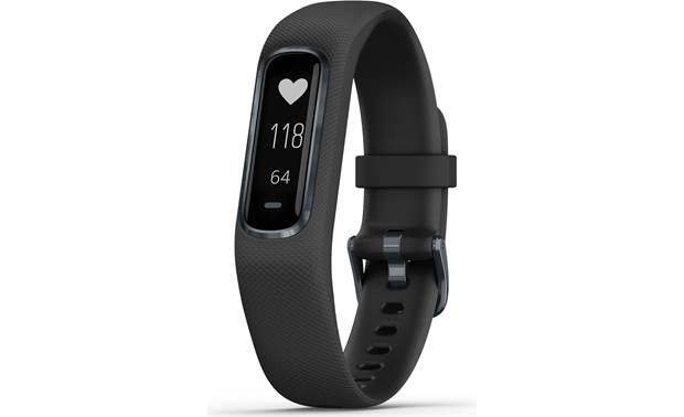 Garmin vivosmart 4 vivosmart 4 feature a built-in Pulse Ox monitor