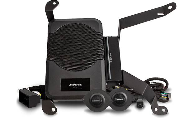 Alpine Restyle PSS-23WRA Transform your Wrangler's sound with this awesome Alpine package