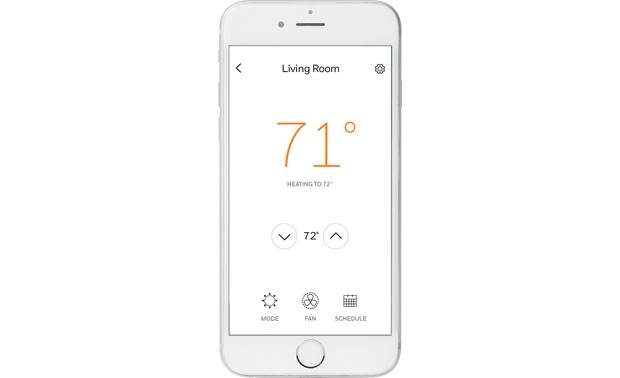 Honeywell Lyric T5+ Wi-Fi® The Lyric app lets you control your thermostat whether you're home or away.