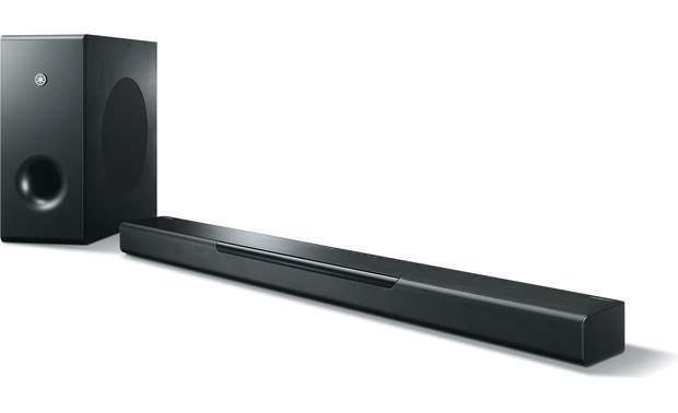 yamaha musiccast bar 400 yas 408 powered sound bar with. Black Bedroom Furniture Sets. Home Design Ideas