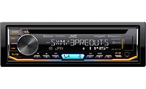 JVC KD-T805BTS Customize this receiver's lighting and EQ settings