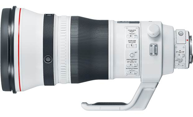 Canon EF 400mm f/2.8L IS III USM Side view