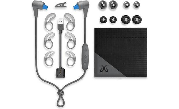 Jaybird X4 Wireless Accessories include four pairs of ear tips