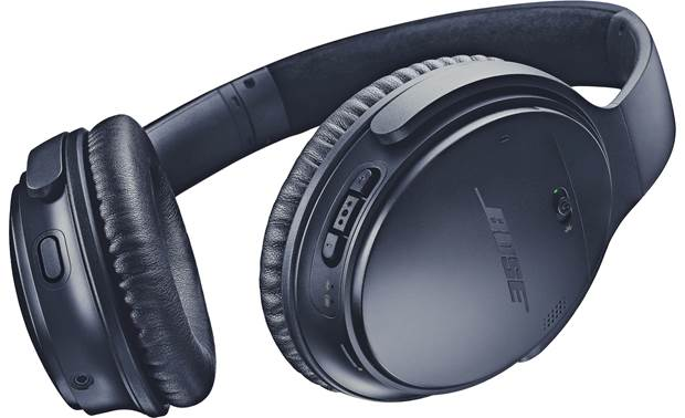 Bose® QuietComfort® 35 wireless headphones II The best Bose headphones with a special Triple Midnight Blue color scheme