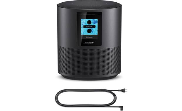 Bose® Home Speaker 500 Triple Black with included AC power cord