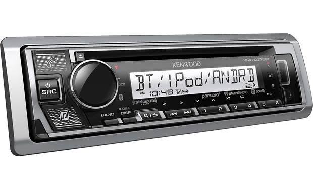 Kenwood KMR-D375BT Removeable faceplate