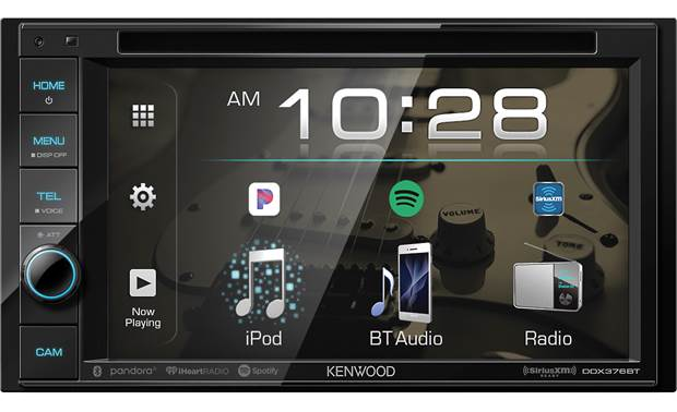 Kenwood DDX376BT For those who like an good old-fashioned volume knob, this receiver has it