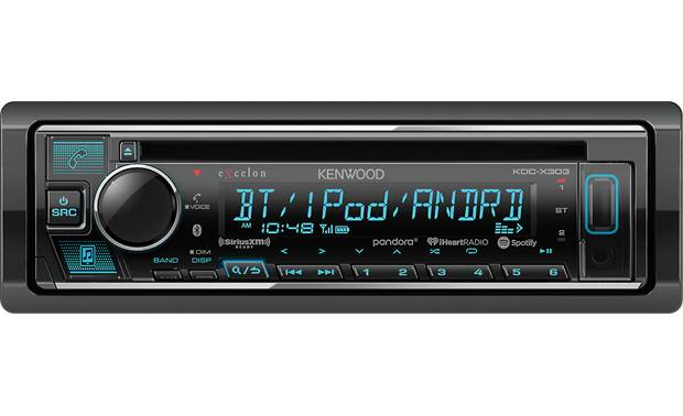 Kenwood Excelon KDC-X303 Get quick access to the wireless convenience of Bluetooth