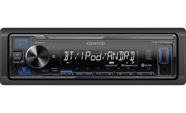 Kenwood KMM-BT225U Add hands-free calling, audio streaming, and more