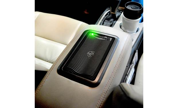 Brandmotion FreedomCharge FDMC-1213 The non-skid wireless charger installed in the armrest