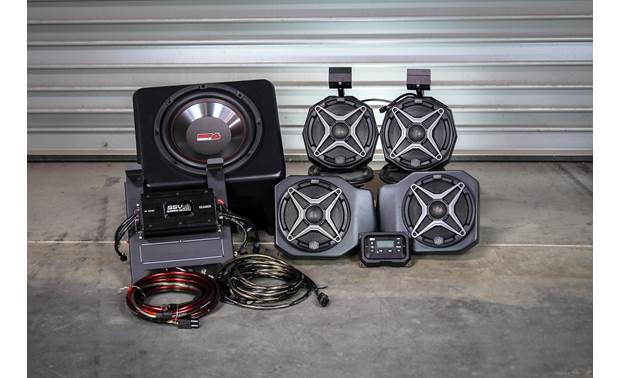 SSV Works RG4-5A Awesome sound for your 2018-up Polaris Ranger XP1000