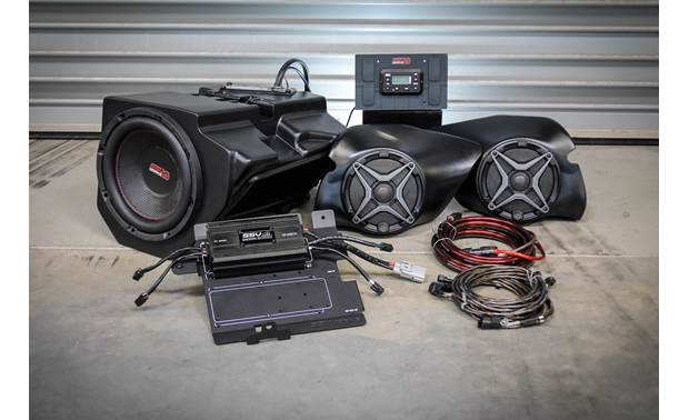 SSV Works RZ3-3A Rock your RZR with this custom audio kit