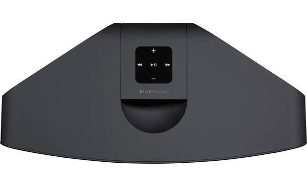 Bluesound Pulse 2i Black - top-mounted control buttons